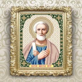 Схема вышивки бисером на габардине Св. Петр Art Solo VIA4309 - 45.00грн.