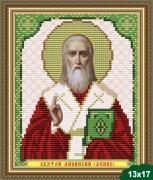 Рисунок на ткани для вышивки бисером Святой Дионисий (Денис)
