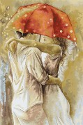 Набор для вышивки крестом Под зонтом