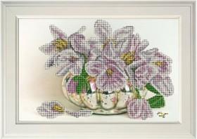 Набор для вышивания бисером Цветы 16