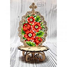 Писанка для вышивки бисером по дереву Петриковская Biser-Art 37720 - 99.00грн.