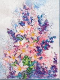 Набор для вышивания бисером Нежно-розовый Абрис Арт АВ-798 - 540.00грн.