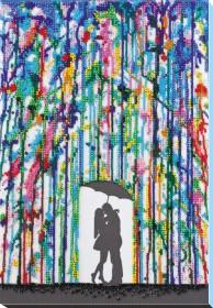 Набор для вышивки бисером Дождь для влюбленных Абрис Арт АВ-820 - 473.00грн.