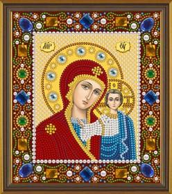 Набор для вышивки бисером Богородица Казанская Новая Слобода (Нова слобода) Д6025 - 189.00грн.