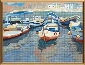 Набор для вышивки крестом Лодочная пристань Новая Слобода (Нова слобода) СВ4079 - 118.00грн.