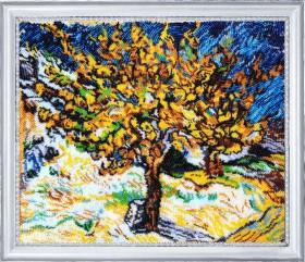 Набор для вышивки бисером Тутовое дерево (по мотивам Ван Гога) Баттерфляй (Butterfly) 753Б - 690.00грн.