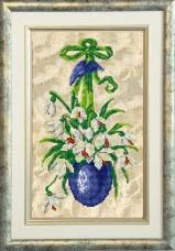 Набор для вышивки ювелирным бисером Пасхальные истории Краса и творчiсть 10315