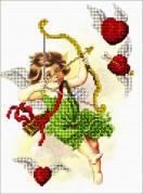 Набор для вышивки ювелирным бисером День Св. Валентина 3