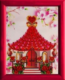 Схема для вышивки бисером Домик Любви Баттерфляй (Butterfly) СМ143 - 13.00грн.