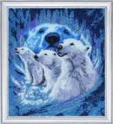 Набор вышивки бисером Северное сияние