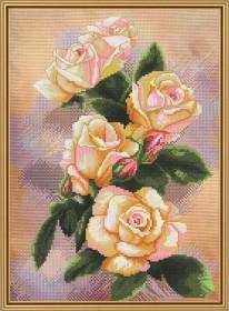 Набор для вышивки крестом Чайная роза Новая Слобода (Нова слобода) СР4207 - 145.00грн.