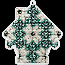 Набор для вышивания бисером на пластиковой основе Волшебная страна FLPL-014