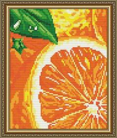 Набор для выкладки алмазной техникой Апельсин, , 280.00грн., АТ5571, Art Solo, Натюрморты