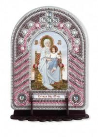 Набор для вышивки иконы с рамкой-киотом Песвятая Богородица Владычица