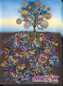 Набор для вышивки бисером на холсте Денежное дерево Абрис Арт АВ-508 - 484.00грн.