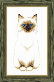 Набор для вышивки крестом Сиамский кот