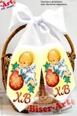 Пасхальный бант для вышивки бисером Biser-Art В24015