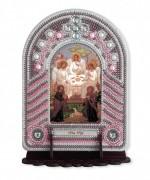 Набор для вышивки иконы с рамкой-киотом Троица