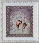 Набор для вышивки бисером Казанская Икона Божьей Матери. Венчальная пара