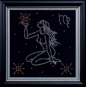 Набор для вышивки бисером Дева, , 102.00грн., БГ-009 МК, Магия канвы, Гороскоп