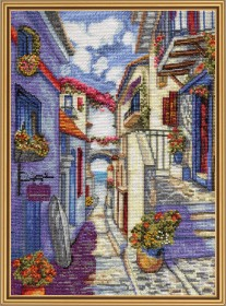 Набор для вышивки нитками Улочка к морю Новая Слобода (Нова слобода) РЕ4346 - 205.00грн.