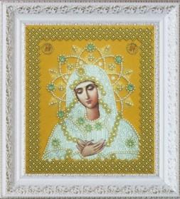 Набор для вышивания бисером Умиление (золото), , 622.00грн., Р-317, Картины бисером, Иконы 20*30 (А4)