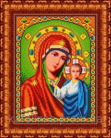 Набор для вышивки бисером Божья Матерь Казанская Каролинка КБИН-4023/2 - 220.00грн.