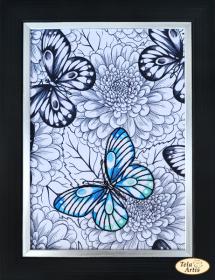Набор для вышивки нитками Бабочка Tela Artis (Тэла Артис) НШ-005 - 230.00грн.