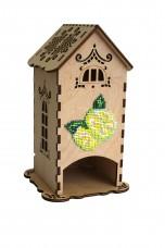 Набор - конструктор для декупажа Чайный домик с лимоном Чарiвна мить (Чаривна мить) F-009
