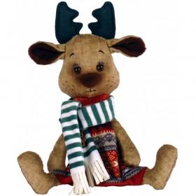 Набор для шитья мягкой игрушки Лосик Zoosapiens ММ3018 - 277.00грн.