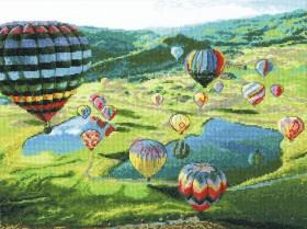 Набор для вышивки крестом Воздушные шары Чарiвна мить (Чаривна мить) М-443 - 462.00грн.
