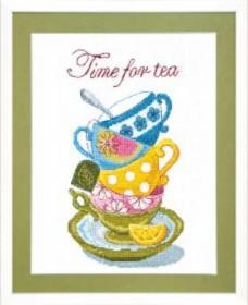Набор для вышивания крестом  Time for tea