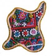 Набор - магнит для вышивки бисером Карта Украины Ивано - Франковская область