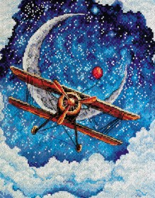 Набор для вышивки крестом Над облаками Абрис Арт АН-093 - 290.00грн.