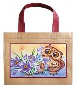 Набор - сумка Сова и крокусы