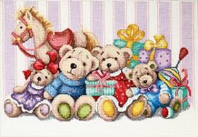 Набор для вышивки крестиком Мягкие игрушки Чарiвна мить (Чаривна мить) М-387 - 431.00грн.