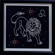 Набор для вышивки бисером Лев