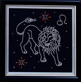 Набор для вышивки бисером Лев, , 102.00грн., БГ-008 МК , Магия канвы, Гороскоп