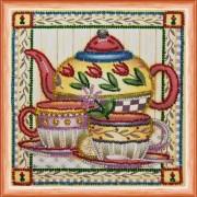 Набор для вышивки бисером Чай вдвоём