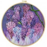 Набор для вышивания бисером Глициния