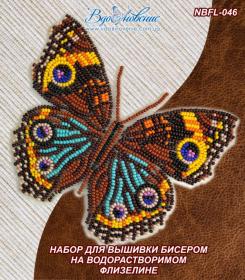 Набор для вышивки бисером Бабочка Прецис Лавиния