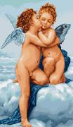 Набор для вышивки крестом Первый поцелуй