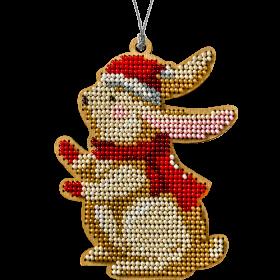Набор для вышивки бисером по дереву Кролик Волшебная страна FLK-236 - 129.00грн.
