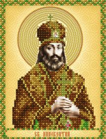Схема вышивки бисером на атласе Св. Иннокентий А-строчка АС5-145 - 34.00грн.