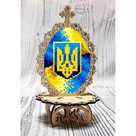 Писанка для вышивки бисером по дереву Патриотическая Biser-Art 37716 - 99.00грн.