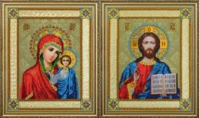 Набор для вышивки бисером Венчальные иконы Картины бисером Р-364 - 510.00грн.