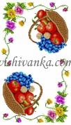 Рисунок на габардине для вышивки бисером Рушник