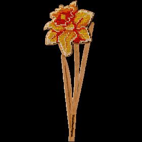 Набор для вышивки по дереву Нарцисс Волшебная страна FLK-199 - 130.00грн.