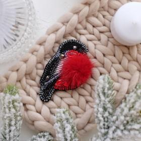 Набор для вышивки украшения Снегирь