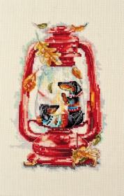 Набор для вышивки крестом Тепло октября Абрис Арт АН-088 - 246.00грн.
